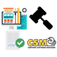 Certified Software Manager (CSM) - 45 Day Access Term course image