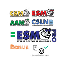 Pro Package - CSM, ASM, ESM, CSLN + ACP - 180 Day Access course image